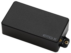 EMG 60X Active X-Series Humbucking Electric Guitar Pickup Black