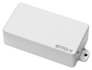 EMG 60X Active Dual Coil Humbucking Electric Guitar Pickup White