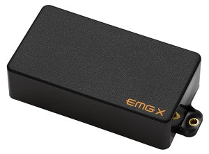 EMG 89X Active Dual Mode Humbucking Guitar Pickup, Black