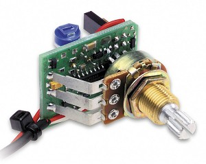 Fishman Powerchip Preamp/Mixer for Powerbridge, Long Shaft