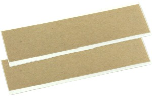 (2) Double Sided Adhesive Strips for Surface-Mounted Contact Pickup Sensors