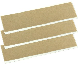 (3) Double Sided Adhesive Strips for Surface-Mounted Contact Pickup Sensors