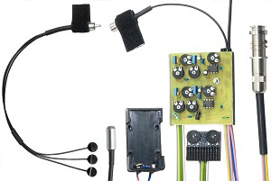 K&K Sound Trinity Mini Onboard Guitar Pickup System with Mic