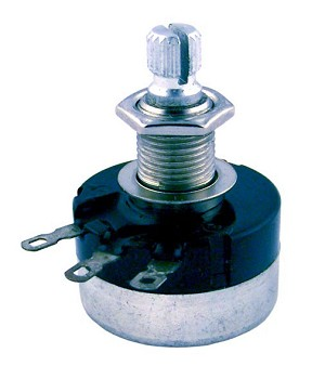 Mighty Mite MM718 Custom Control Pot 500K Sealed Audio (Volume/Tone) Medium  Shaft