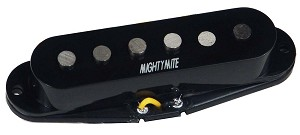 Mighty Mite VPSS-R Vintage Single Coil Strat Guitar Alnico 5 Bridge Pickup, Black