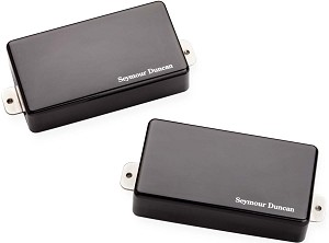 Seymour Duncan AHB-1s Blackouts Active Humbuckers, Neck & Bridge, Black Chrome