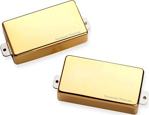 Seymour Duncan AHB-1s Blackouts Active Humbuckers, Neck & Bridge, Gold