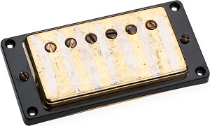 Seymour Duncan Antiquity PAF Humbucker Neck Pickup, Aged Gold Cover