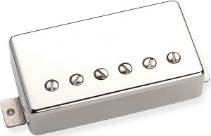 Seymour Duncan SH-55b Seth Lover Model PAF Humbucker Bridge Pickup, Nickel, 4 Conductor