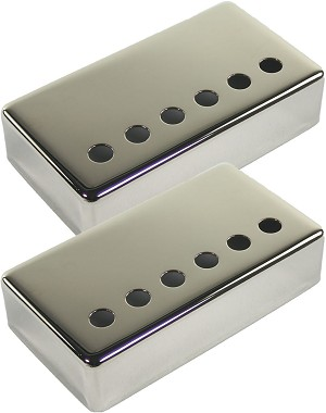Set of Two Seymour Duncan Non-Magnetic Nickel Covers for Humbucker Pickups