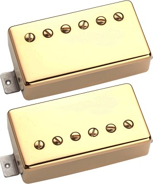 Seymour Duncan Distortion Mayhem Set of Two SH-6 Humbuckers, Gold