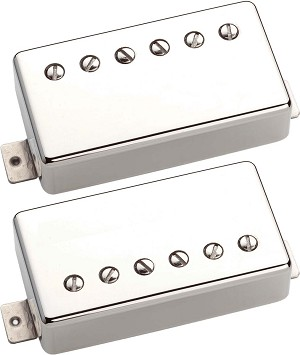 Seymour Duncan SHPG-1s Pearly Gates Bridge & Neck Pickup Set, Nickel