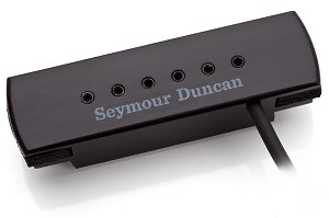 Seymour Duncan SA-3XL Woody Humbucker Pickup Adjustable, Black