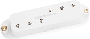 Seymour Duncan SDBR-1n Duckbuckers Strat Neck Pickup, White