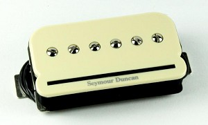 Seymour Duncan SHPR-1n P-Rails P90 Humbucker Neck Pickup, Cream