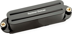 Seymour Duncan SHR-1n Hot Rails Strat Neck/Middle Pickup, Black