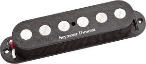 Seymour Duncan SSL-4T Quarter-Pound Flat High Output Strat Pickup, Tapped