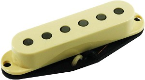 Seymour Duncan APS-2 Alnico 2 Pro Flat Strat Neck/Bridge Pickup, Cream, No Logo
