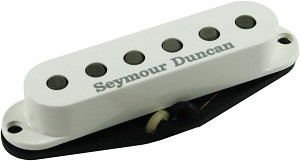 Seymour Duncan SSL-2 Vintage Flat Strat Single Coil Pickup, Parchment Cover