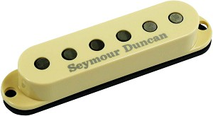 Seymour Duncan SSL-6T Custom Flat Strat Pickup, TAPPED, Cream