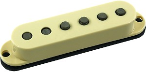 Seymour Duncan SSL-5 Custom Staggered Strat Neck/Bridge Pickup, Cream No Logo, Left Hand