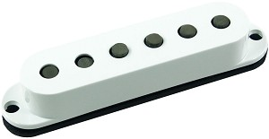 Seymour Duncan SSL-5 Custom Staggered Strat Neck/Bridge Pickup, White, No Logo, Left Hand
