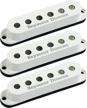 Seymour Duncan SSL-6 Custom Flat Strat 3 Pickup Calibrated SET, White