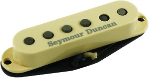 Seymour Duncan APS-1R Alnico 2 Pro Staggered Strat Middle Pickup, RWRP, Cream