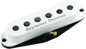 Seymour Duncan APS-1 Alnico 2 Pro Vintage Staggered Strat Pickup, White Cover