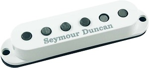 Seymour Duncan SSL-5 Custom Staggered Strat Neck/Bridge Pickup, White