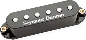 Seymour Duncan STK-S6 Custom Stack Plus for Strat, Black