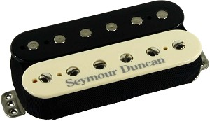 Seymour Duncan TB-11 Custom Custom Trembucker Pickup, Zebra (Black/Cream)